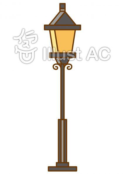街灯の無料フリーイラスト素材