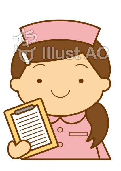 看護師の無料フリーイラスト素材