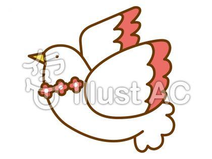 鳩の無料フリーイラスト素材