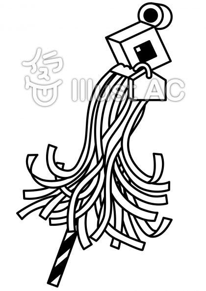 め組の無料フリーイラスト素材白黒モノクロ