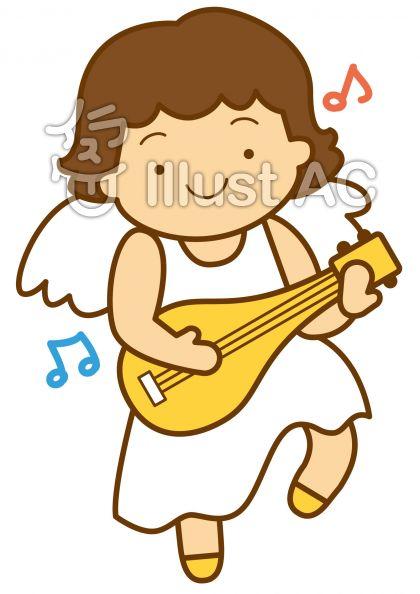 天使3の無料フリーイラスト素材