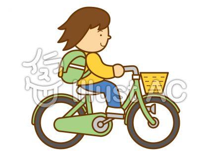 自転車2の無料フリーイラスト素材