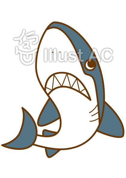 サメの無料フリーイラスト素材