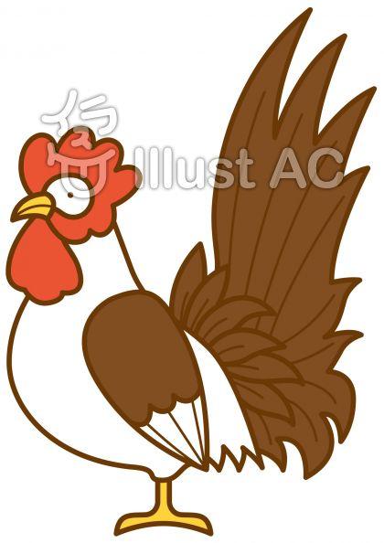 鶏3の無料フリーイラスト素材