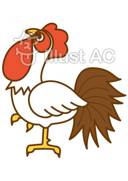 鶏5の無料フリーイラスト素材